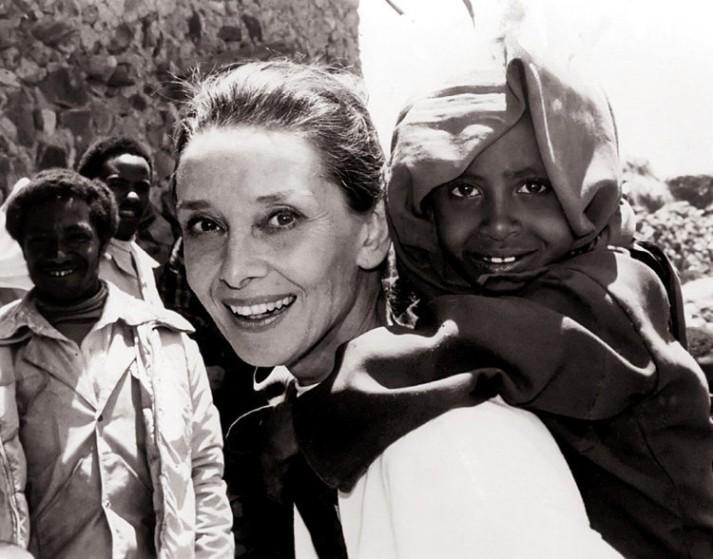 Audrey Hepburn as UNICEF Ambassador