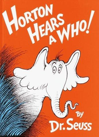 horton hears a who - author voices
