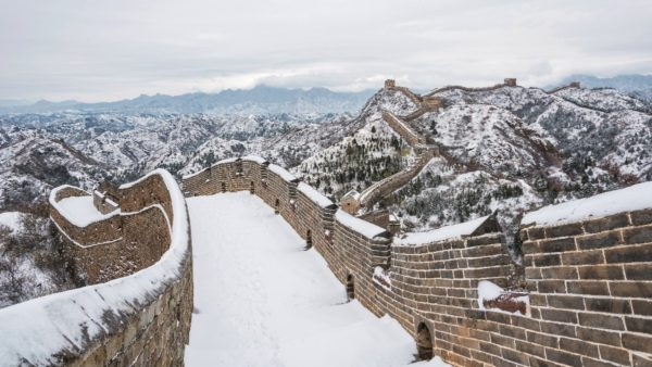 explore the great wall of china